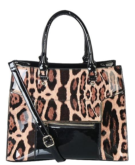 gran descuento 91076 0f809 rimen & Co. Animal Print bolso para mujer bolso de mano ...