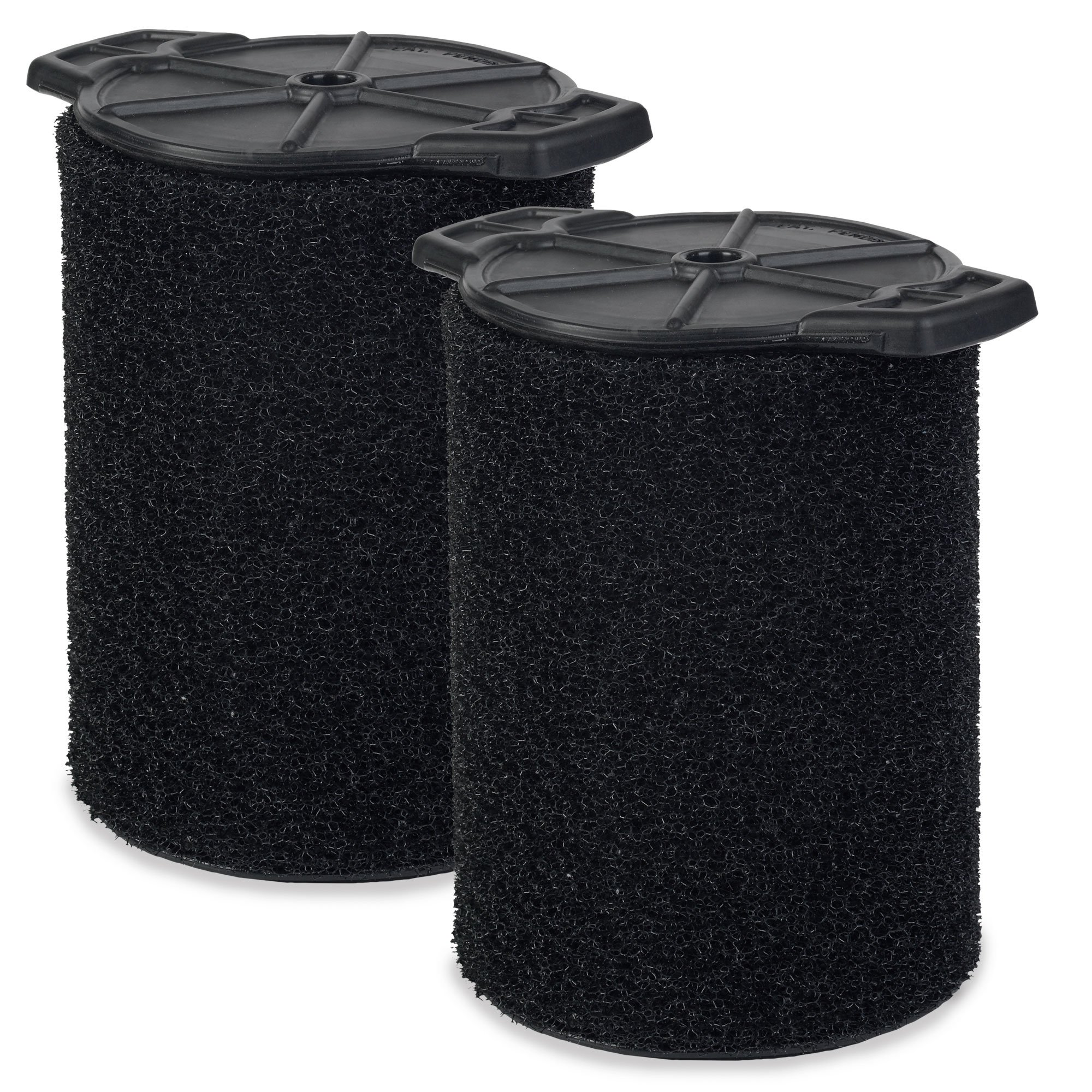 WORKSHOP Wet Vac Filters WS24200F2 Foam Filter For Wet Dry Vacuum Cleaner (2 Pack Wet Application Foam Filters) For WORKSHOP 5-Gallon To 16-Gallon Shop Vacuum Cleaners