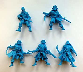 1:32 Figure Set Pirate Figurines