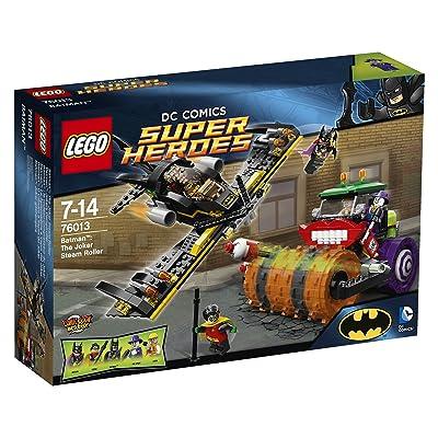 Lego DC Comics Super Heroes Batman The Joker Steam Roller: Toys & Games