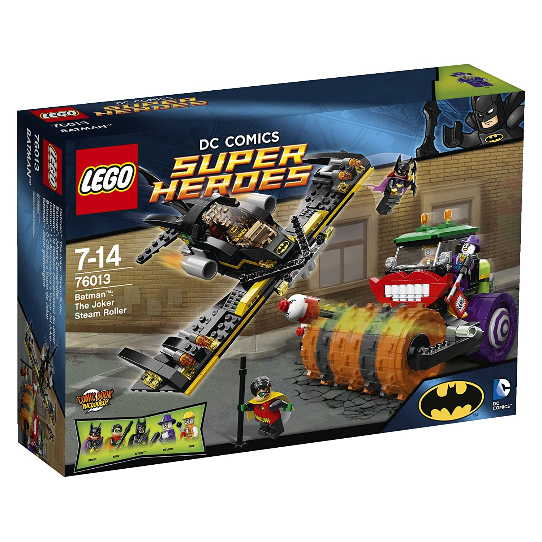 LEGO A Rouleau presseur Joker Héro Amazon Jeux et Jouets