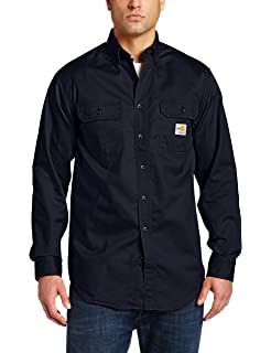 038ba934d1f Carhartt Men s Flame Resistant Lightweight Twill Shirt at Amazon ...