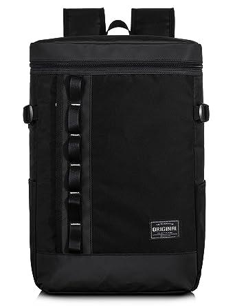 74161c41c6 Leaper Water-Resistant Laptop Backpack Travel Bag Hiking Daypack Gym Bag  (Black)