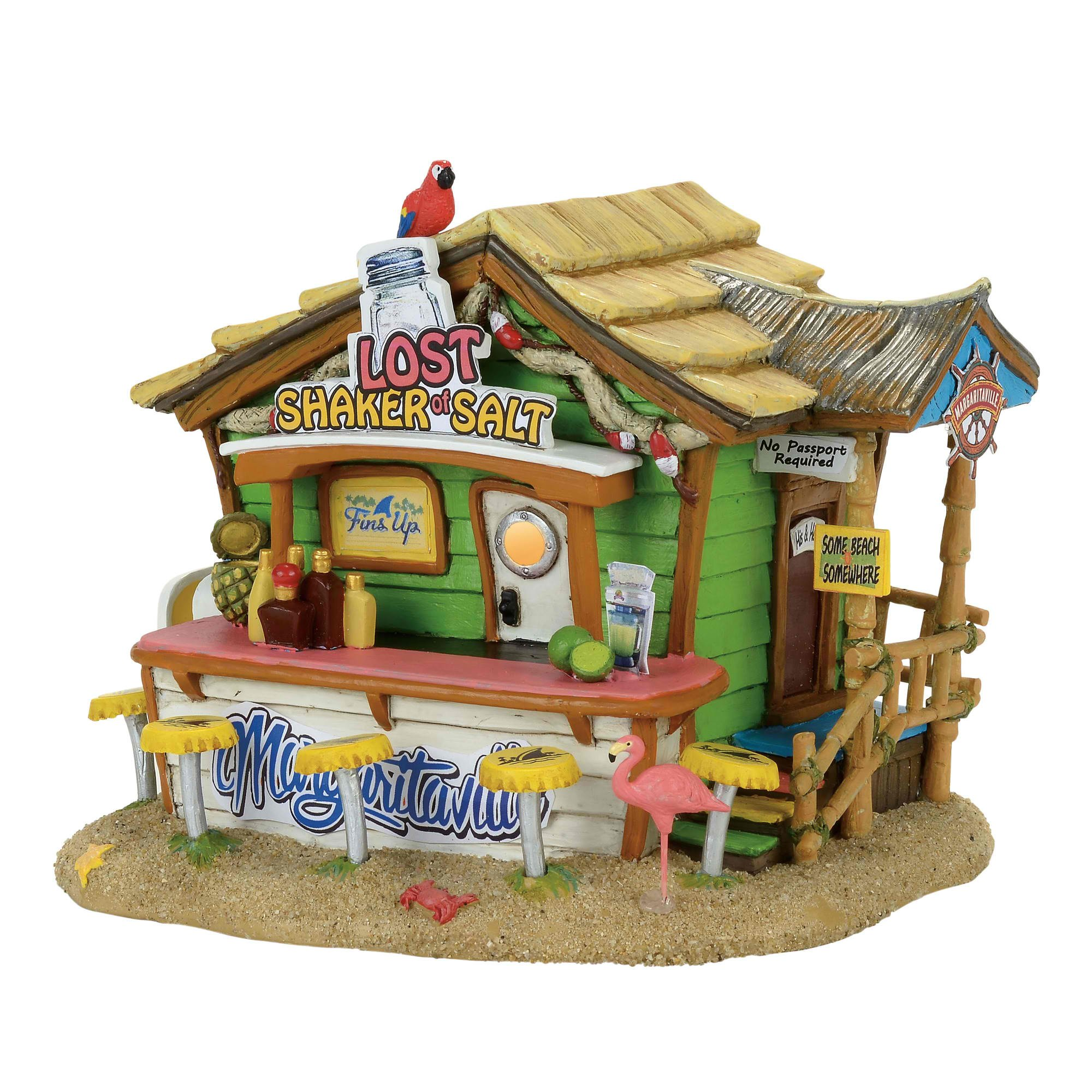 Department 56, Margaritaville Village Marg Lost Shaker Of Salt Bar by Margaritaville