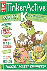 TinkerActive Workbooks: Kindergarten Math Paperback