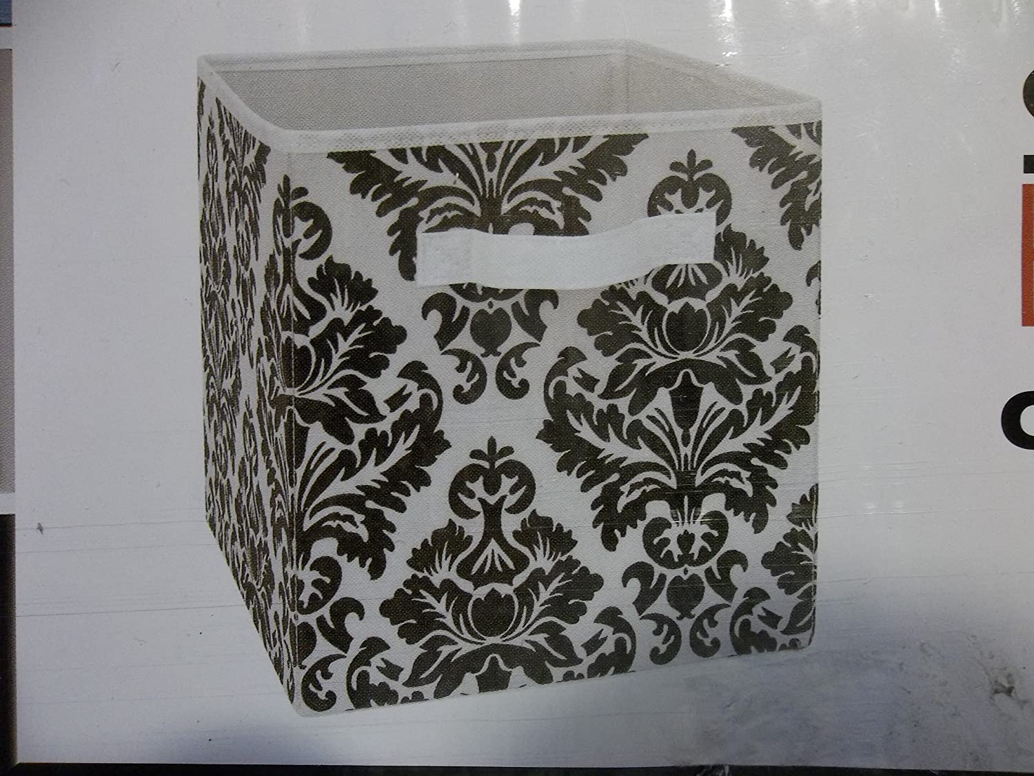 Attractive System Build Cube Storage Fabric Drawer Damask Pattern 2 Pack:  Amazon.co.uk: Kitchen U0026 Home