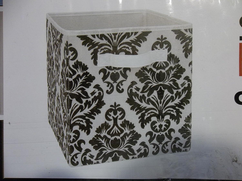 Marvelous Amazon.com: System Build Cube Storage Fabric Drawer Damask Pattern 2 Pack:  Home U0026 Kitchen
