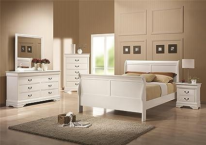 Amazon.com: Coaster Home Furnishings 204691Q-S4 Bedroom ...