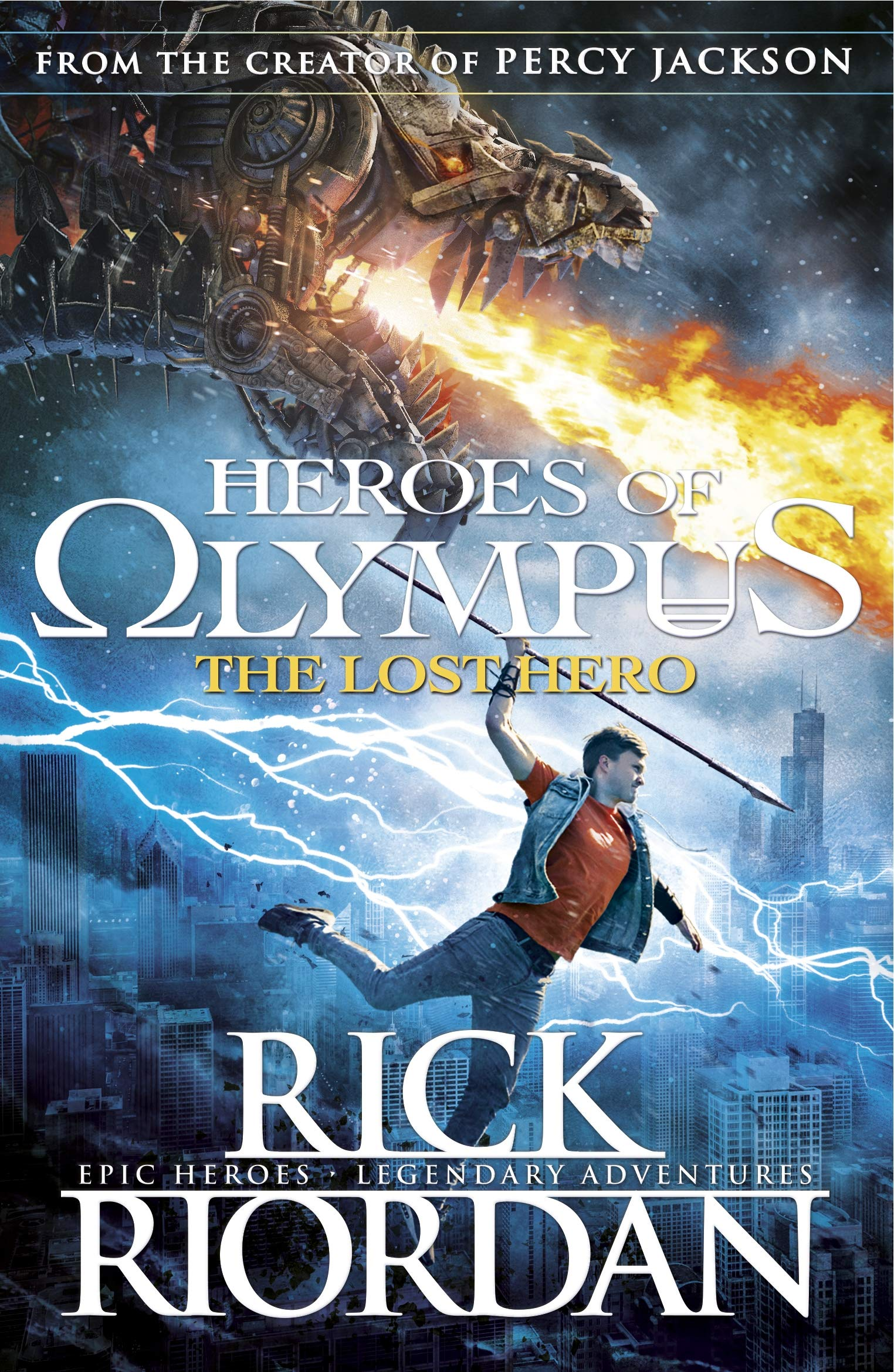 The Lost Hero. Rick Riordan PDF