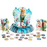 """Campanilla y las hadas de Disney 3d fiesta de cumpleaños Kit para decoración de mesa, diseño de, multi color, 123/5. """""""