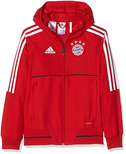 on feet images of united kingdom biggest discount Adidas Veste de présentation pour enfants FC Bayern Munich ...
