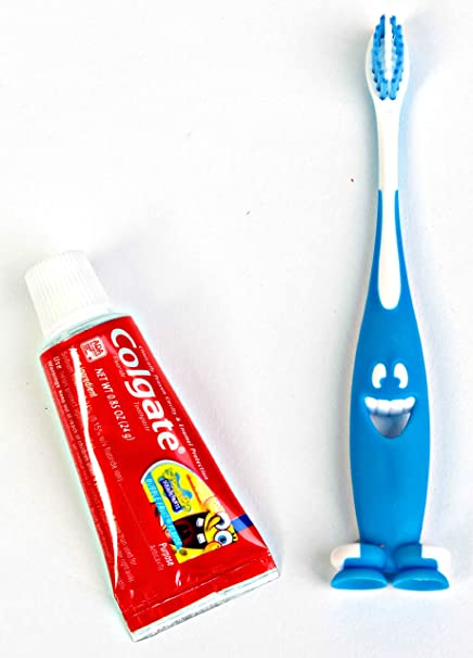 Dr. Fresh cepillo de dientes y pasta de dientes Bob Esponja