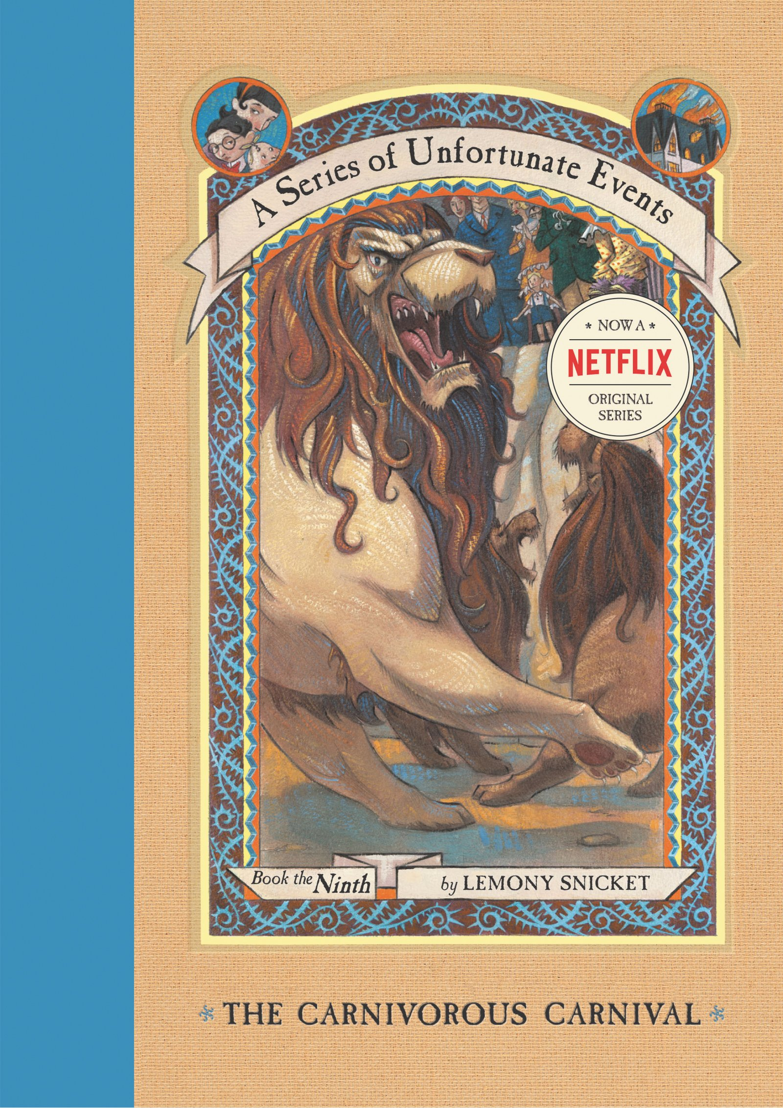 The Carnivorous Carnival (a Series Of Unfortunate Events # 9): Lemony  Snicket, Brett Helquist, Michael Kupperman: 9780064410120: Amazon: Books