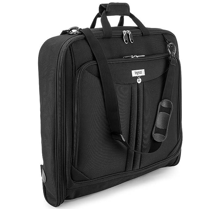 Amazon.com: Bagazzi - Bolsa de transporte para 3 trajes para ...
