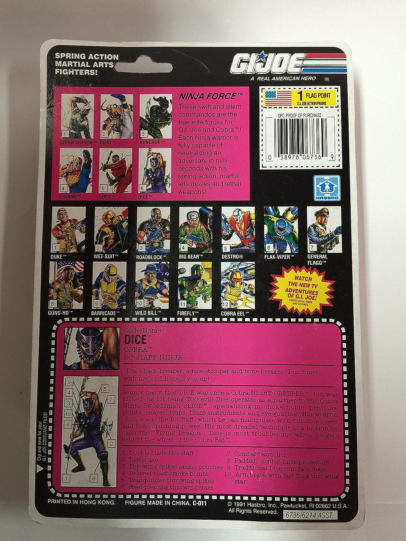 Amazon.com: GI Joe Ninja Fuerza Dados: Toys & Games