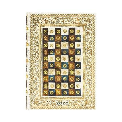 Paperblanks Agendas 12 Meses 2020 Aureo | Por Días | Midi ...