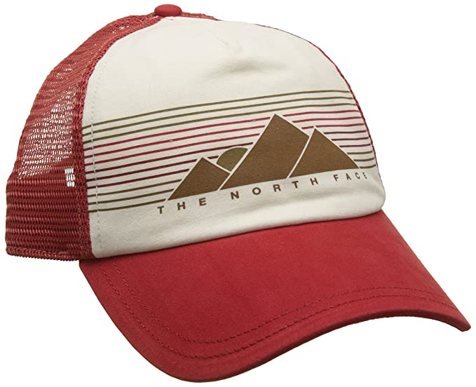 The North Face 359Q1WM Gorra, Mujer, (sunbakd Red/Vintage White ...