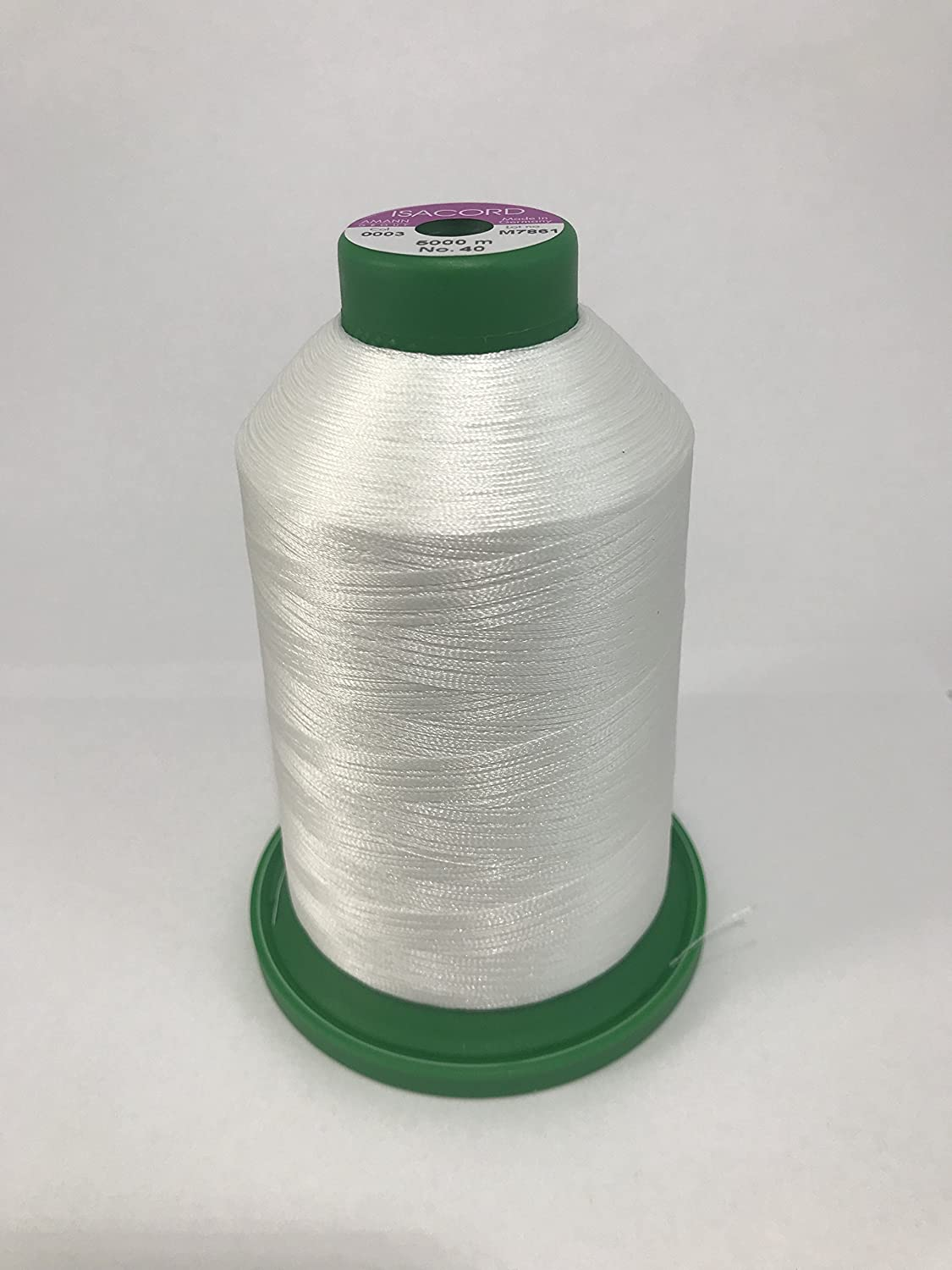 Isacord Embroidery Thread - A0003 - 5000m Ackermann