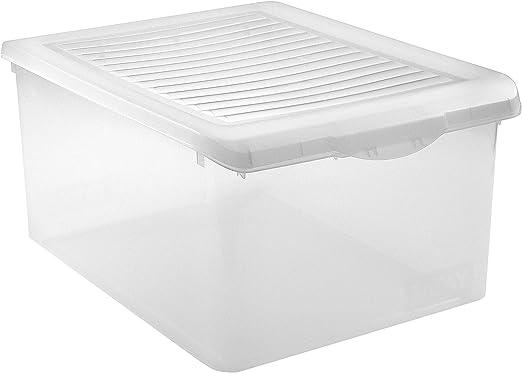 Tatay 1152301 - Caja de Almacenamiento con Tapa de plástico, 35 l ...