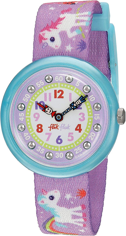 Flik Flak Mädchenuhr Datum Quarz mit Stoffarmband – FBNP033: Amazon.de: Uhren - Kinder Uhr