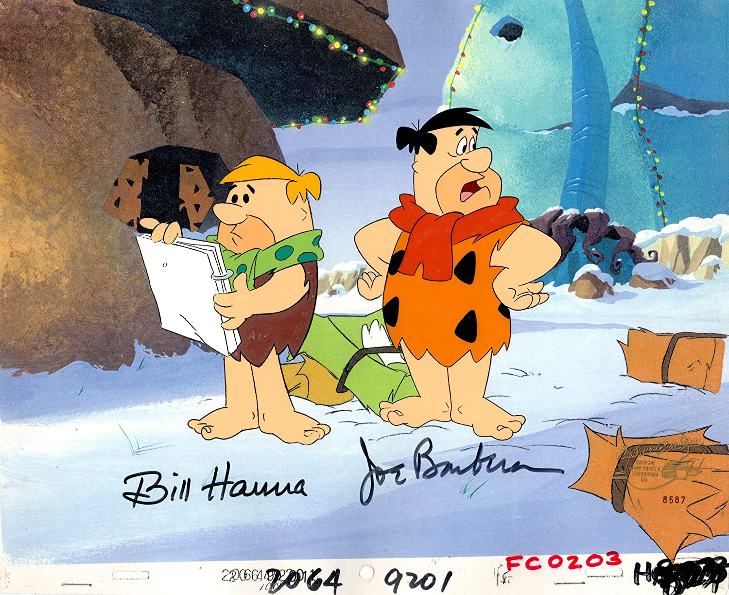 The Flinstones Fred Great New Colour POSTER