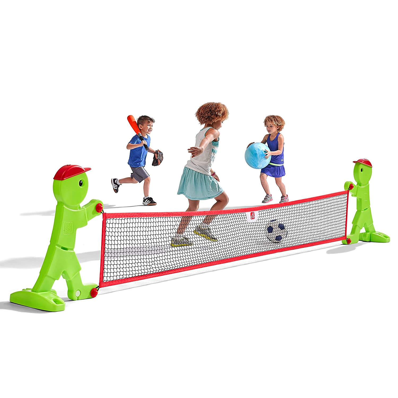 amazoncom step kidalert outdoor boundary net toys  games -