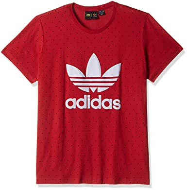 8b6c788bb2fe6 T-Shirt Women adidas Originals Pharrell Williams HU BF T-Shirt   Amazon.co.uk  Clothing