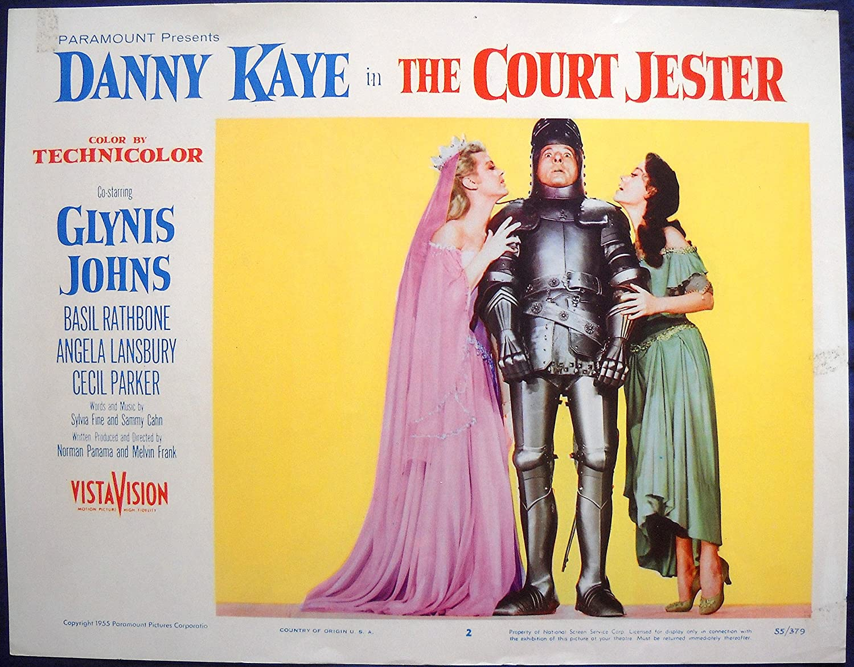 Amazon.com: THE COURT JESTER MOVIE POSTER! Angela Lansbury/Danny ...