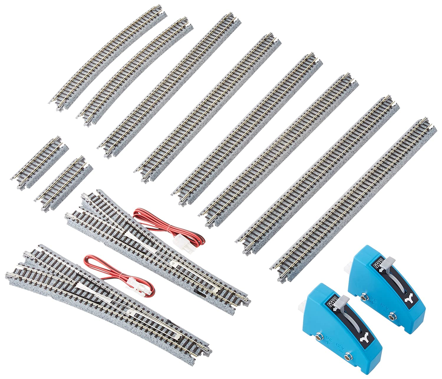 Kato Usa Model Train Products V1 Unitrack Mainline How To Wire A Switch Passing Siding Set Toys Games