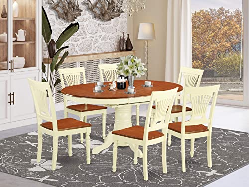 East West Furniture Kitchen dining table set 6 Great chair