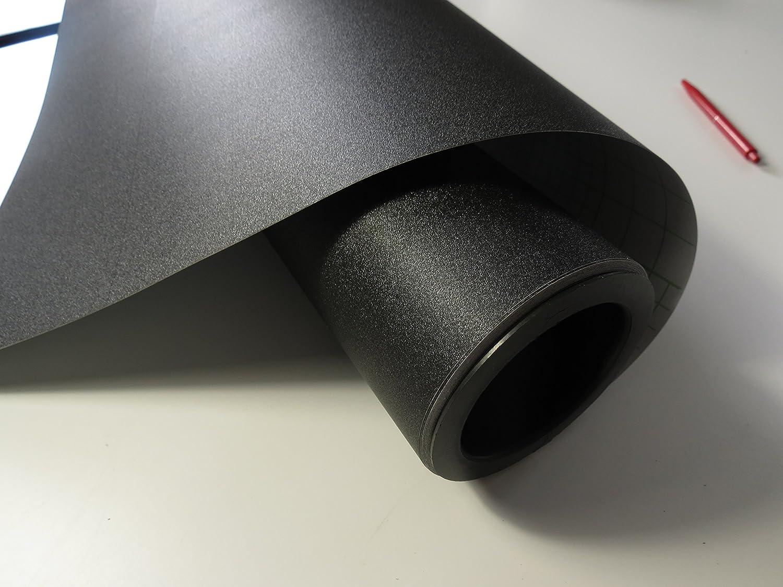 K/önighaus 2D Carbon Schwarz Folie 100 x 152 cm blasenfrei mit Anleitung Autofolie