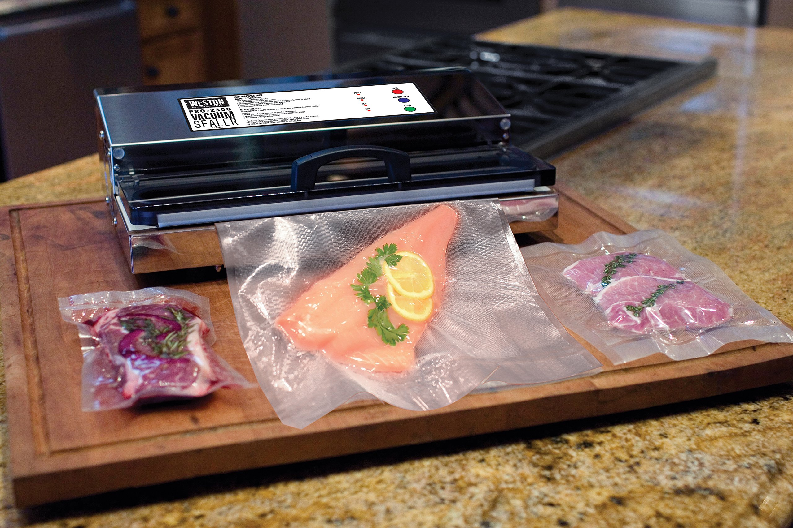Weston Pro-2300 Commercial Grade Stainless Steel Vacuum Sealer (65-0201), Double Piston Pump by Weston (Image #7)