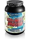 IronMaxx 100% Whey Protein / Proteinpulver auf Wasserbasis / Eiweißpulver mit Pistazie-Kokos Geschmack / 1 x 900 g Dose