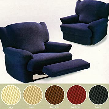 Hallways Easy Fit Stretch Recliner Arm Chair One Seater