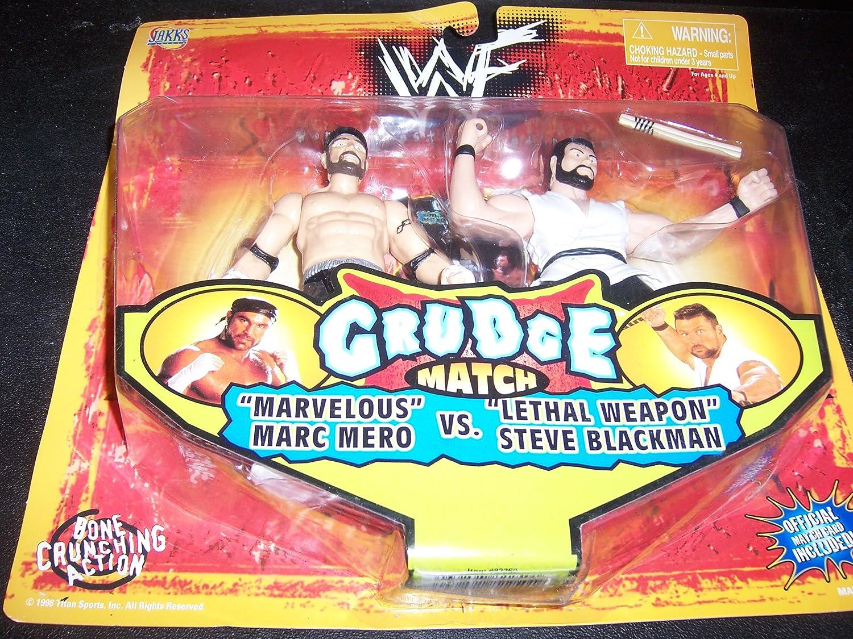 Jakks Pacific World Wrestling Federation Grudge Match Marvelous Marc Mero Vs. Lethal Weapon Steve Blackman