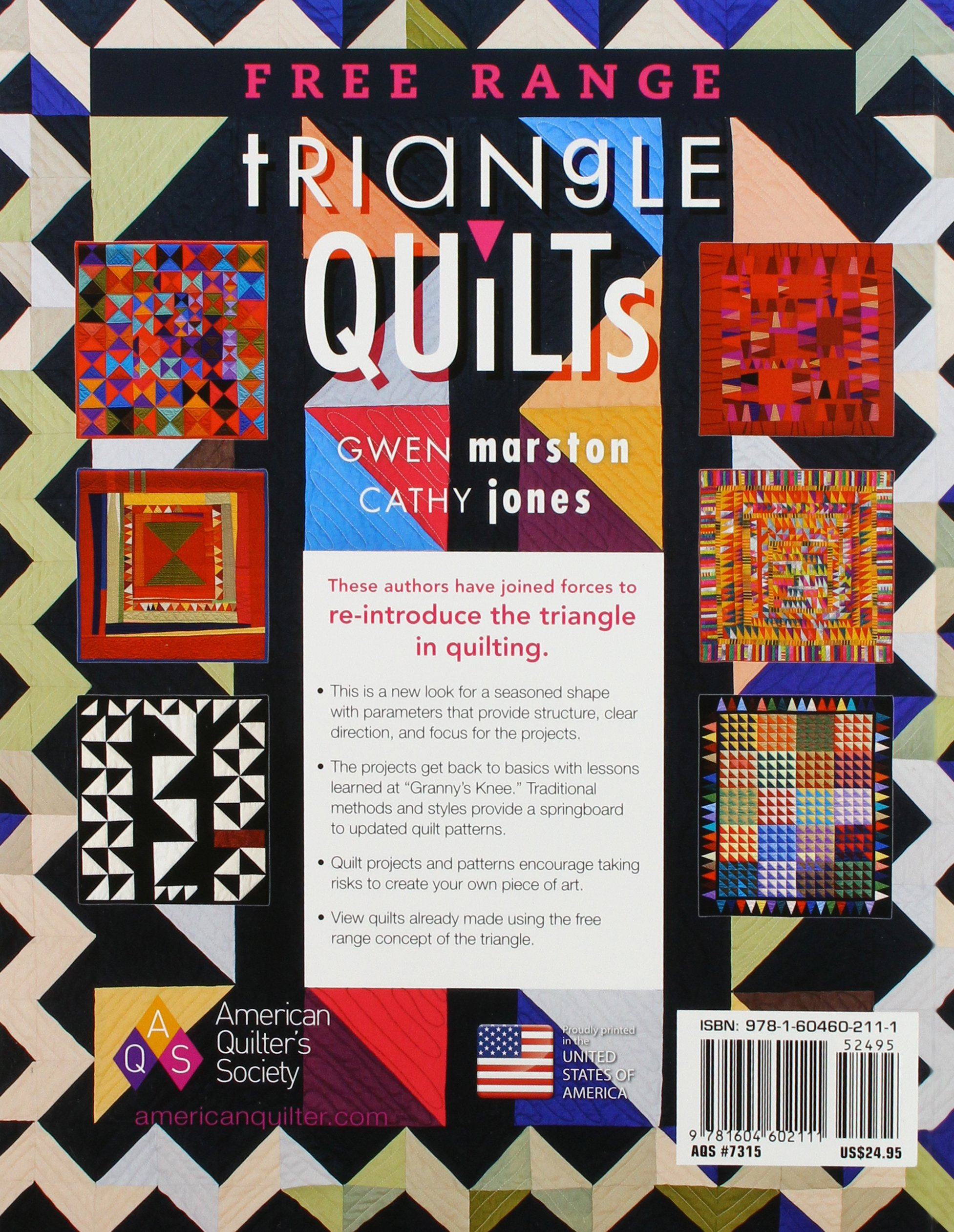Free Range Triangle Quilts: Gwen Marston, Cathy Jones: 9781604602111:  Amazon: Books