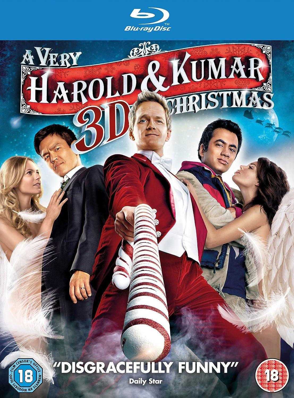 A Very Harold & Kumar 3D Christmas Blu-ray 3D + Blu-ray + UV Copy ...