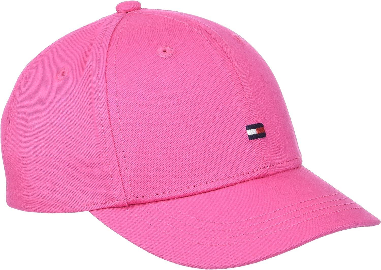 Tommy Hilfiger Classic BB Cap Gorra de béisbol, Rosa (Pink Flambe ...