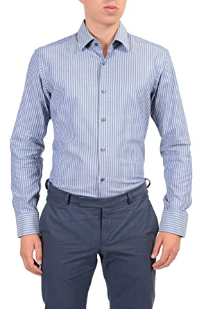 "Hugo Boss ""Enzo"" Mens Multi-Color Dress Shirt ..."