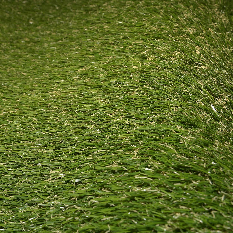Florh/öhe 28mm Breite 2m der hochwertige und echt-aussehende Rasenteppich. Kunstrasen von AMOD