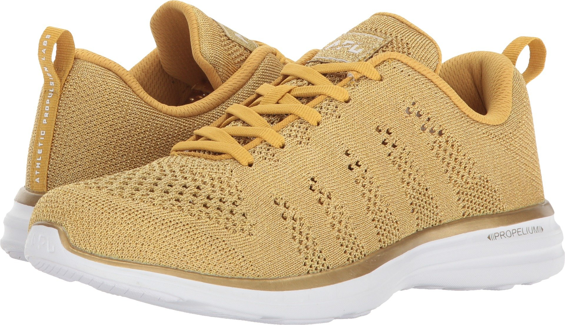 APL: Athletic Propulsion Labs Women's TechLoom Pro Sneakers, 24k, 10 B(M) US