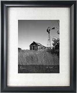 malden international designs barnside portrait gallery matted picture frame 11x1416x20 black