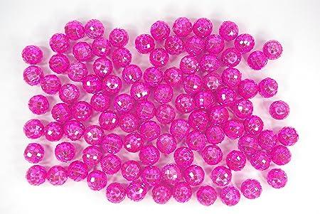 100 Pink Mirror Ball Diameter 2 Cm Bag Of 100 Pcs Mirror Balls