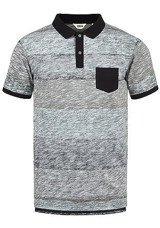 Solid Teino Camiseta Polo De Manga Corta para Hombre con Cuello De ...
