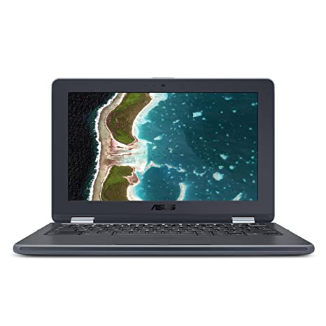 ASUS Chromebook Flip C213SA-YS02 11 6 inch Ruggedized & Spill Proof,  Touchscreen, Intel Dual-Core Apollo Lake N3350 , 4GB DDR4 RAM, 32GB Flash
