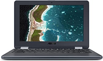 "Asus Chromebook Flip C213SA-YS02 11.6"" Touchscreen Convertible, Intel Celeron, 4GB Ram"