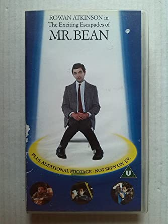 Mr bean the exciting escapades of mr bean vhs rowan atkinson mr bean the exciting escapades of mr bean vhs solutioingenieria Image collections