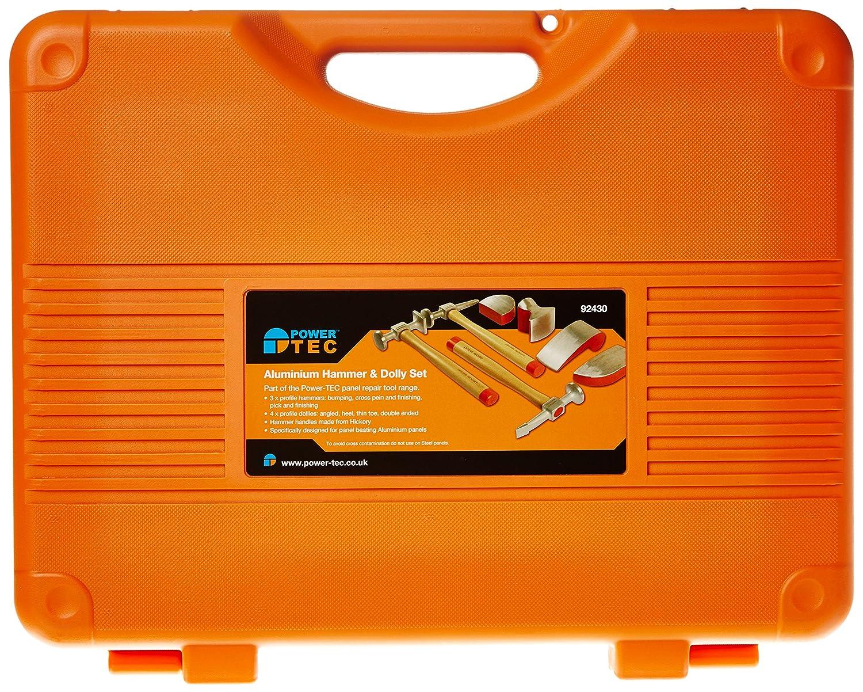 Power-Tec 92430 Aluminium Hammer//Dolly Set
