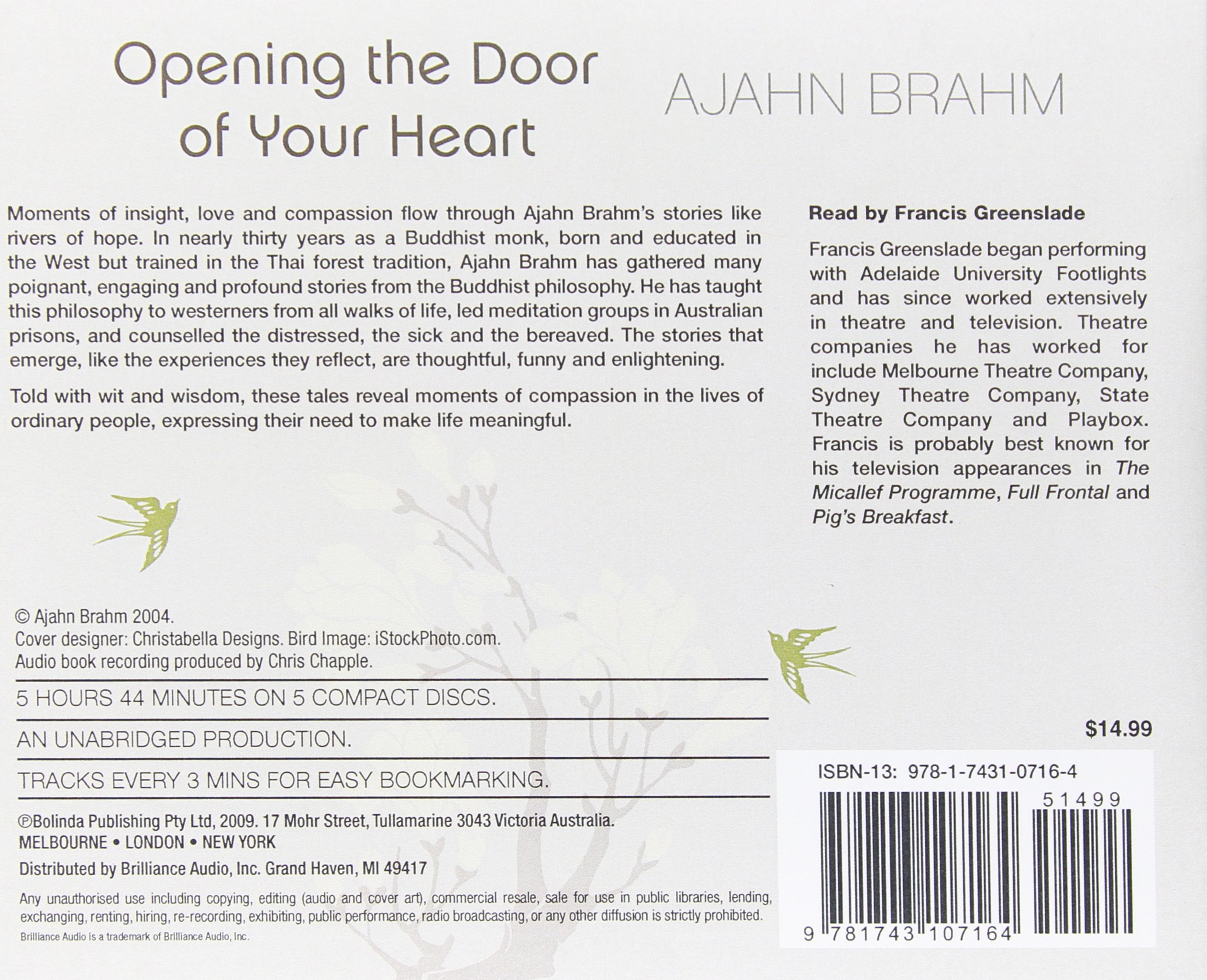 Opening The Door Of Your Heart By Ajahn Brahm Ebook