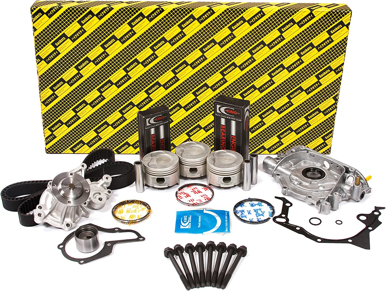 Amazon.com: Evergreen OK8006LM/0/1/1 Fits 96-00 Chevrolet Geo Metro 1.0  SOHC 6V G10 Master Overhaul Engine Rebuild Kit: AutomotiveAmazon.com
